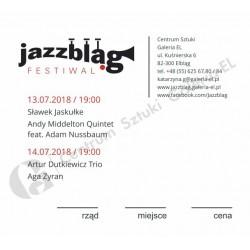 Karnet Jazzbląg 2018