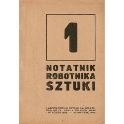 Notatnik Robotnika Sztuki